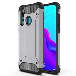 King Kong Armor Premium Shockproof Dual Layer Rugged Hard Cover for Huawei nova 4 - Silver Grey