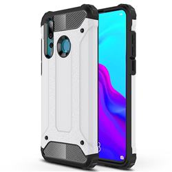 King Kong Armor Premium Shockproof Dual Layer Rugged Hard Cover for Huawei nova 4 - White