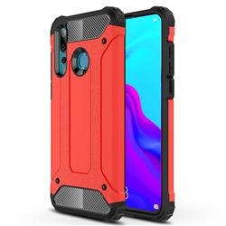 King Kong Armor Premium Shockproof Dual Layer Rugged Hard Cover for Huawei nova 4 - Big Red