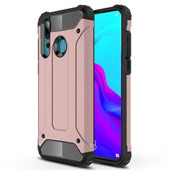 King Kong Armor Premium Shockproof Dual Layer Rugged Hard Cover for Huawei nova 4 - Rose Gold