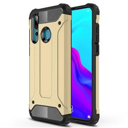 King Kong Armor Premium Shockproof Dual Layer Rugged Hard Cover for Huawei nova 4 - Champagne Gold