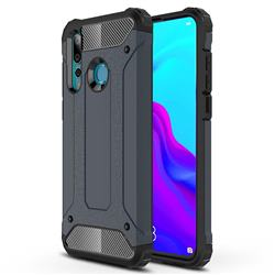 King Kong Armor Premium Shockproof Dual Layer Rugged Hard Cover for Huawei nova 4 - Navy