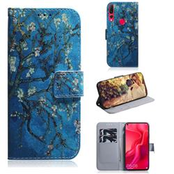 Apricot Tree PU Leather Wallet Case for Huawei nova 4