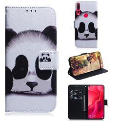 Sleeping Panda PU Leather Wallet Case for Huawei nova 4