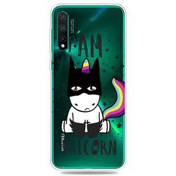 Batman Clear Varnish Soft Phone Back Cover for Huawei Nova 5 / Nova 5 Pro