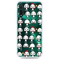 Mini Panda Clear Varnish Soft Phone Back Cover for Huawei Nova 5 / Nova 5 Pro