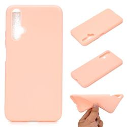 Candy Soft TPU Back Cover for Huawei Nova 5 / Nova 5 Pro - Pink