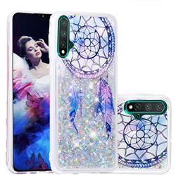 Fantasy Wind Chimes Dynamic Liquid Glitter Quicksand Soft TPU Case for Huawei Nova 5 / Nova 5 Pro