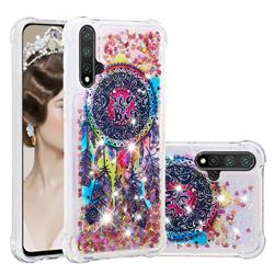 Seal Wind Chimes Dynamic Liquid Glitter Sand Quicksand Star TPU Case for Huawei Nova 5 / Nova 5 Pro