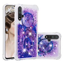 Retro Wind Chimes Dynamic Liquid Glitter Sand Quicksand Star TPU Case for Huawei Nova 5 / Nova 5 Pro