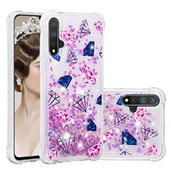 Diamond Dynamic Liquid Glitter Sand Quicksand Star TPU Case for Huawei Nova 5 / Nova 5 Pro