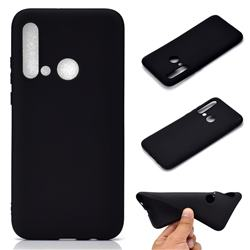 Candy Soft TPU Back Cover for Huawei nova 5i - Black