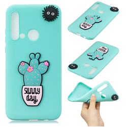 Cactus Flower Soft 3D Silicone Case for Huawei nova 5i