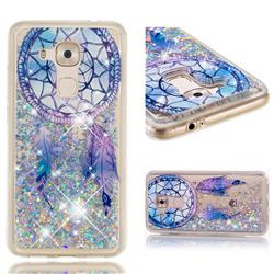 Fantasy Wind Chimes Dynamic Liquid Glitter Quicksand Soft TPU Case for Huawei Nova Plus