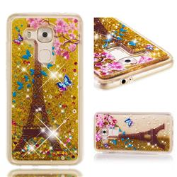 Golden Tower Dynamic Liquid Glitter Quicksand Soft TPU Case for Huawei Nova Plus