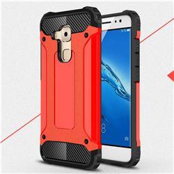 King Kong Armor Premium Shockproof Dual Layer Rugged Hard Cover for Huawei Nova Plus - Big Red