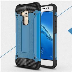 King Kong Armor Premium Shockproof Dual Layer Rugged Hard Cover for Huawei Nova Plus - Sky Blue