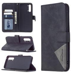 Binfen Color BF05 Prismatic Slim Wallet Flip Cover for Oppo Find X2 Lite - Black