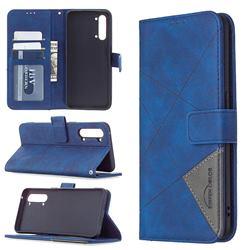 Binfen Color BF05 Prismatic Slim Wallet Flip Cover for Oppo Find X2 Lite - Blue