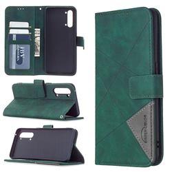 Binfen Color BF05 Prismatic Slim Wallet Flip Cover for Oppo Find X2 Lite - Green