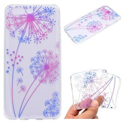 Rainbow Dandelion Super Clear Soft TPU Back Cover for OnePlus 5