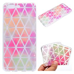 Rainbow Triangle Super Clear Soft TPU Back Cover for OnePlus 5