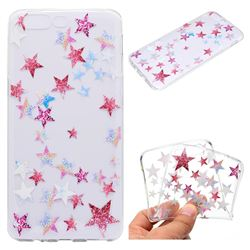 Pentagram Super Clear Soft TPU Back Cover for OnePlus 5