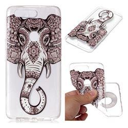 Tattoo Elephant Super Clear Soft TPU Back Cover