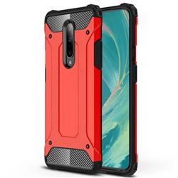 King Kong Armor Premium Shockproof Dual Layer Rugged Hard Cover for OnePlus 7 - Big Red