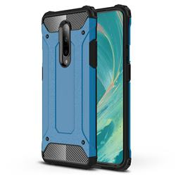 King Kong Armor Premium Shockproof Dual Layer Rugged Hard Cover for OnePlus 7 - Sky Blue
