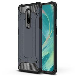 King Kong Armor Premium Shockproof Dual Layer Rugged Hard Cover for OnePlus 7 - Navy
