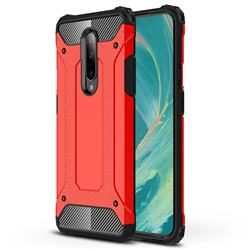 King Kong Armor Premium Shockproof Dual Layer Rugged Hard Cover for OnePlus 7 Pro - Big Red