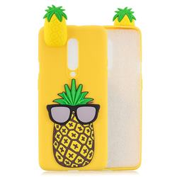 Big Pineapple Soft 3D Climbing Doll Soft Case for OnePlus 7 Pro