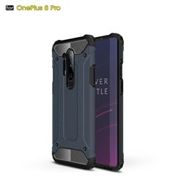 King Kong Armor Premium Shockproof Dual Layer Rugged Hard Cover for OnePlus 8 Pro - Navy