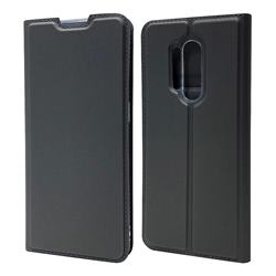 Ultra Slim Card Magnetic Automatic Suction Leather Wallet Case for OnePlus 8 Pro - Star Grey