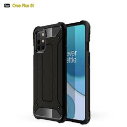 King Kong Armor Premium Shockproof Dual Layer Rugged Hard Cover for OnePlus 8T - Black Gold