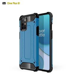 King Kong Armor Premium Shockproof Dual Layer Rugged Hard Cover for OnePlus 8T - Sky Blue