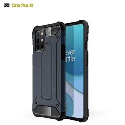 King Kong Armor Premium Shockproof Dual Layer Rugged Hard Cover for OnePlus 8T - Navy