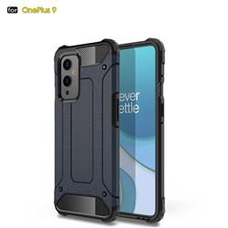 King Kong Armor Premium Shockproof Dual Layer Rugged Hard Cover for OnePlus 9 - Navy