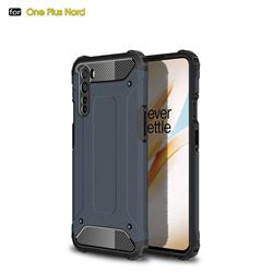 King Kong Armor Premium Shockproof Dual Layer Rugged Hard Cover for OnePlus Nord (OnePlus 8 NORD 5G, OnePlus Z) - Navy