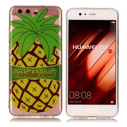 Big Pineapple Super Clear Soft TPU Back Cover for Huawei P10