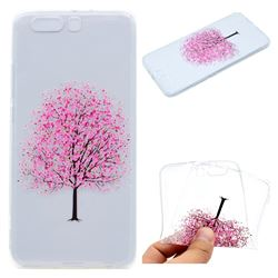 Petals Tree Super Clear Soft TPU Back Cover for Huawei P10