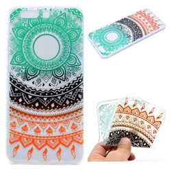 Tribe Flower Super Clear Soft TPU Back Cover for Huawei P10