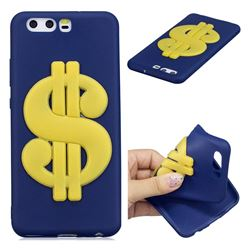 US Dollars Soft 3D Silicone Case for Huawei P10