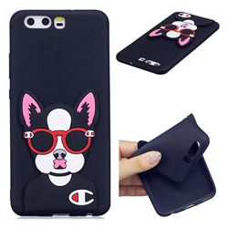 Glasses Gog Soft 3D Silicone Case for Huawei P10