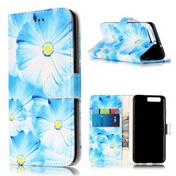 Orchid Flower PU Leather Wallet Case for Huawei P10