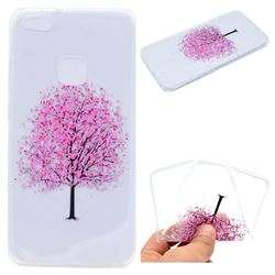 Petals Tree Super Clear Soft TPU Back Cover for Huawei P10 Lite P10Lite