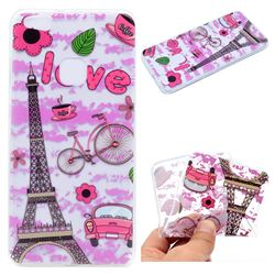 Love Eiffel Tower Super Clear Soft TPU Back Cover for Huawei P10 Lite P10Lite