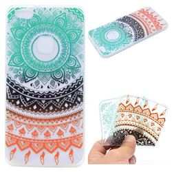 Tribe Flower Super Clear Soft TPU Back Cover for Huawei P10 Lite P10Lite