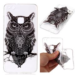 Staring Owl Super Clear Soft TPU Back Cover for Huawei P10 Lite P10Lite